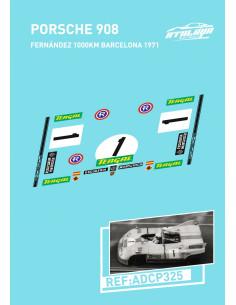 Porsche 908 Fernandez 1000km Bcn 71