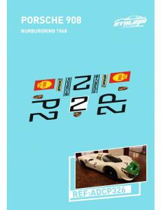 Porsche 908 Nurburgring 68