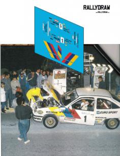 Opel Kadett GSI Beny Alicante 1987