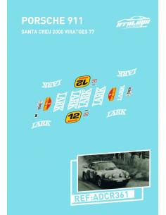 Porsche 911 Santacreu 2000 Viratges 77