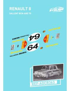 Renault 8 Sallent BCN-AND 70
