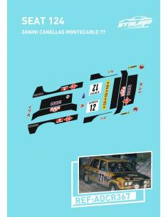 Seat 124 Zanini Cañellas Montecarlo 77