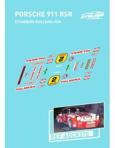 Porsche 911 RSR Etchebers Catalunya 75