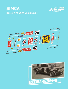 Simca Rally 3 Prades Vilariño 81