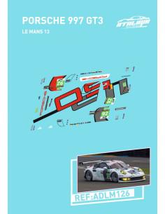 Porsche 977 Gt3 Le Mans 13
