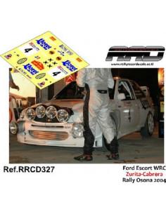 Ford Escort WRC Zurita-Cabrera Rally Osona 2004
