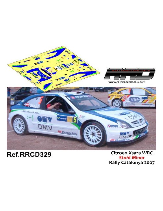 Citroen Xsara WRC Stohl-Minor Rally Catalunya 2007