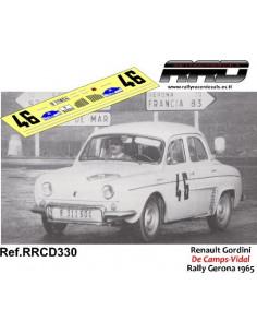 Renault Gordini; De Camps-Vidal; Rally Gerona 1965
