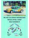 Renault Megane Maxi - Miguel Martínez Conde - Rally Ourense 1997