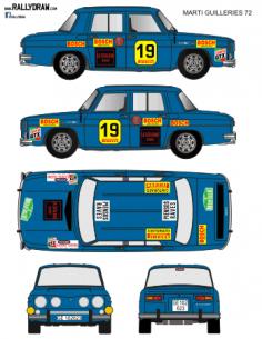 Renault 8 Marti Guilleries 1972