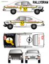 Opel Kadett Sr Alemani Rias Bajas 1972