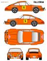 Porsche 911 Barney Rias Bajas 1972