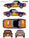 Seat 850 Coupe Juncosa 2000 Virajes 1972
