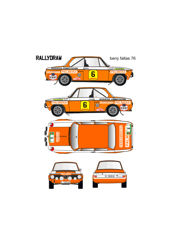 Bmw 2002 Beny Fallas 1976