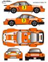 Porsche 911 RSR Etchebers Fallas 1976