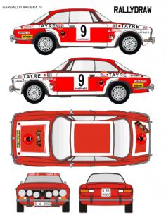 Alfa Romeo Giulia Gargallo Baviera 1974