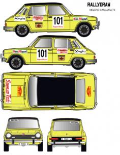 Simca 1200 Melero Catalunya 1973
