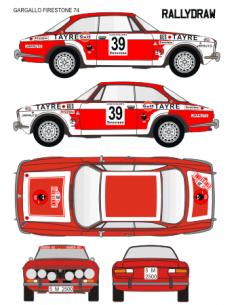 Alfa Romeo Gargallo Firestone 1974