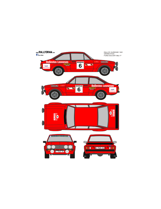 Ford Escort Mk2 Graña Ourense 1981
