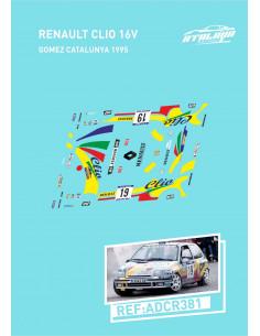 Renault Clio 16V Gomez Catalunya 1995