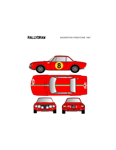 Lancia Fulvia Bagration Firestone 1967