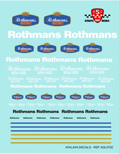 Calcas ROTHMANS