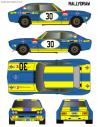 Ford Capri Soler-Roig Trofeo TVE Jarama CET 1972