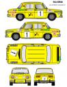 Renault 8 Villacieros Jarama CET 1974