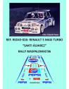 Toyota Celica RA63 - Bjorn Waldegard - Rally Nueva Zelanda 1982