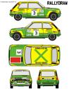 Renault 5 Copa Fermin Sanchez Calafat CET 1978