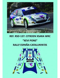 Citroen Xsara WRC - Xevi Pons - Rally España-Catalunya 2005