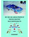 Lancia Stratos HF - Michele Mouton - Rally Montecarlo 1978