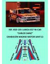 Lancia 037 Ya-Car - Carlos Sainz - Exhibición Madrid Motor Days 2013