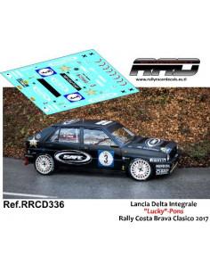 Lancia Delta HF Lucky-Pons Rally Costa Brava Clasico 2017
