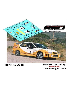 Mitsubishi Lancer Evo 5; Fores-Aluju; Criterium Bergueda 2001