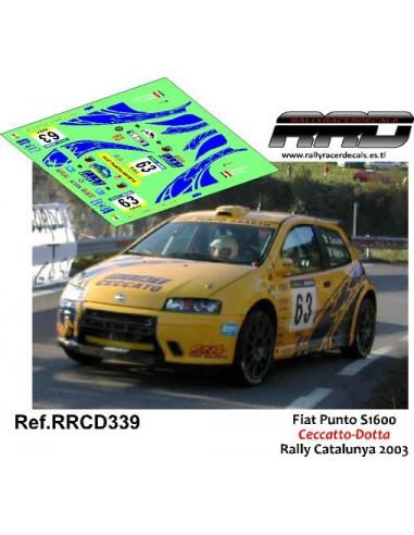 Fiat Punto S1600 Ceccato-Dotta Rally Catalunya 2003