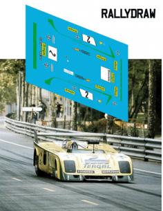 Chevron b23 Bagration 400 km Montjuic 1973