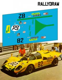 Ferrari 512 s Juncadella Trofeo Provincias Jarama 1970