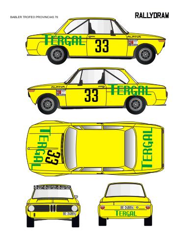 BMW 2002 Babler Trofeo Provincias 1970
