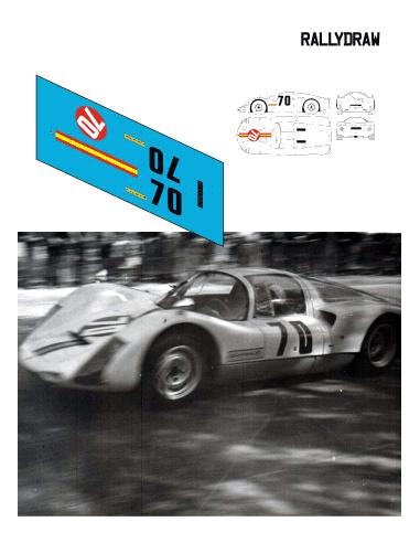 Porsche 906 Fernandez Juan Piñol 1966