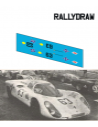 Porsche 907 Soler-Roig 2 Marzo Jarama 1969