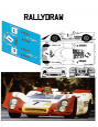 Porsche 908 Fernandez-Godia 12 h Barcelona 1969