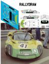 Porsche 910 Blank-fernandez 12 h Barcelona 1969