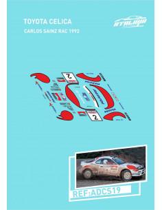 Toyota Celica Sainz RAC 1992