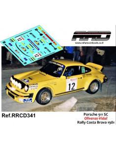 Porsche 911 SC Oliveras-Vidal Rally Costa Brava 1981