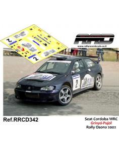 Seat Cordoba WRC Grinyo-Pujol Rally Osona 2002