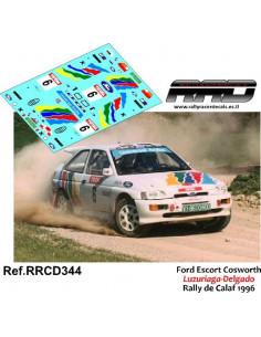 Ford Escort Cosworth Luzuriaga-Delgado Rally de Calaf 1996