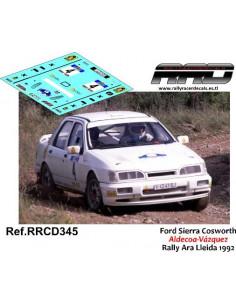 Ford Sierra Cosworth Aldecoa-Vazquez Rally Ara Lleida 1992