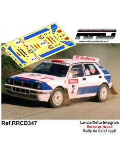 Lancia Delta Integrale Barreras-Aracil Rally Calaf 1996