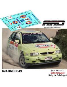 Seat Ibiza GTI Sole-Dalmases Rally de Calaf 1996